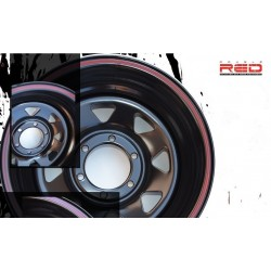 Disky Double Red 15x8 5x114,3 ET-25